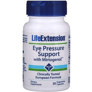 Life Extension, Поддержка нормального глазного давления с Mirtogenol, 30растительных капсул
