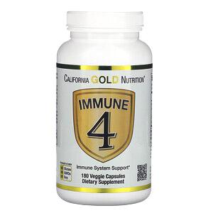 California Gold Nutrition, Immune4, средство для укрепления иммунитета