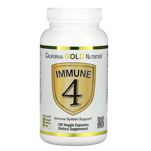California Gold Nutrition, Immune 4