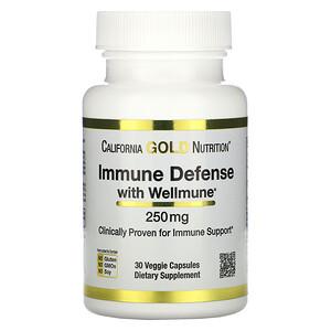 California Gold Nutrition, средство для укрепления иммунитета с Wellmune
