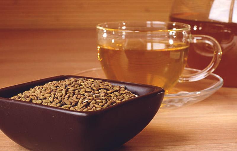 Пажитник и чай