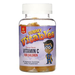Vitables, жевательный витамин C для детей