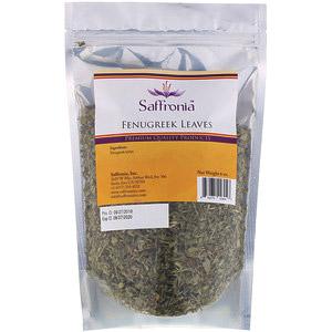 Saffronia, Листья пажитника