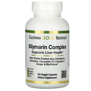 California Gold Nutrition, силимариновый комплекс