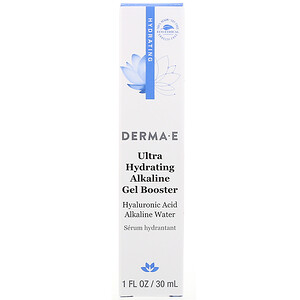 Derma E, Ultra Hydrating Alkaline Gel Booster