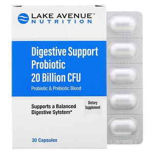 Lake Avenue Nutrition, Пробиотики для поддержки пищеварения