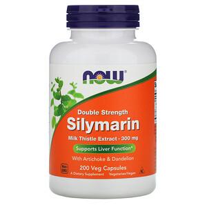 Now Foods, Силимарин двойной концентрации