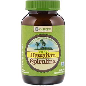Nutrex Hawaii, Pure Hawaiian Spirulina, 500 мг