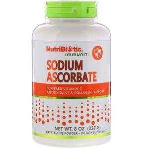 NutriBiotic, Immunity, аскорбат натрия, 8