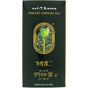 Percent Ashitaba, Чай
