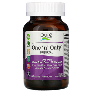 Pure Essence, One 'n' Only, витамины для беременных