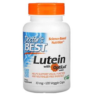 Doctor's Best, Лютеин с OptiLut, 10 мг, 120