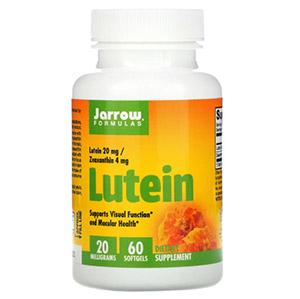 Jarrow Formulas, Лютеин, 20 мг, 60