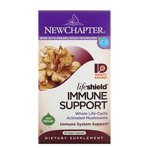 New Chapter, Lifeshield, Immune Support, 60 Vegan Capsules
