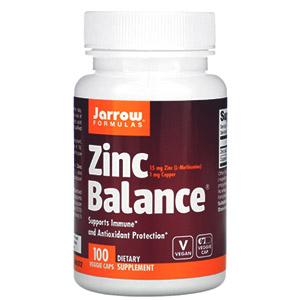 Jarrow Formulas, Zinc Balance