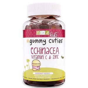 """Natural Dynamix (NDX), """"Жевательные милашки"""" с эхинацеей, витамином C и цинком, для детей"""