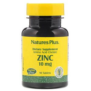 Nature's Plus, Цинк, 10 мг