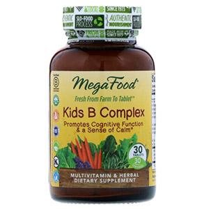 MegaFood, B комплекс для детей, 30