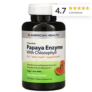 American Health, ферменты папайи с хлорофиллом