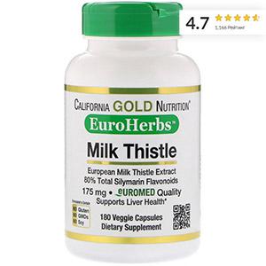 California Gold Nutrition,Экстракт расторопши