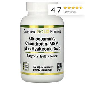 California-Gold-Nutrition,-Глюкозамин,-хондроитин-и-МСМ-с-гиалуроновой-кислотой