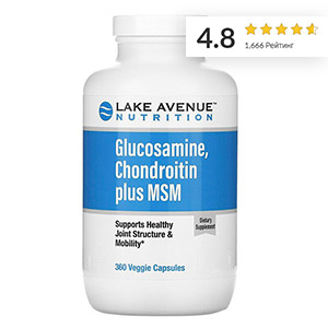 Lake-Avenue-Nutrition,-глюкозамин,-хондроитин-и-МСМ