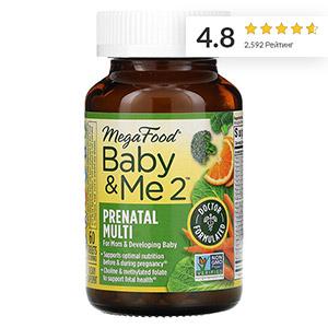 MegaFood, Baby & Me 2, витамины для беременных