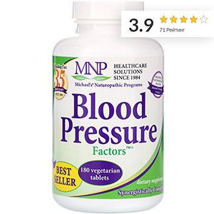Michael's Naturopathic, Blood Pressure Factors Формула для Артериального Давления