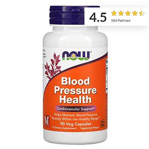 Now Foods, добавка для здорового артериального давления