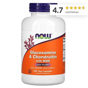 Now-Foods,-глюкозамин,-хондроитин-и-МСМ