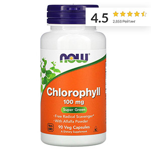Now Foods, хлорофилл