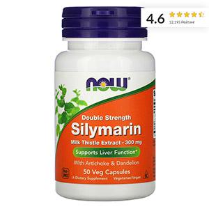 Now-Foods,-силимарин-двойной-концентрации