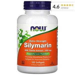 Now-Foods,-силимарин-повышенной-эффективности,-450-мг