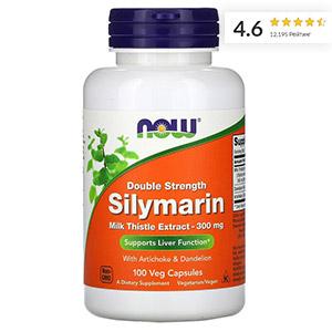Now-Foods,-силимарин