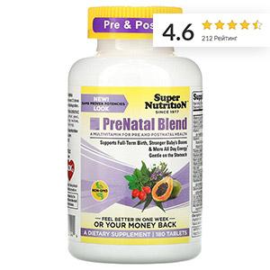 Super Nutrition, Смесь PreNatal