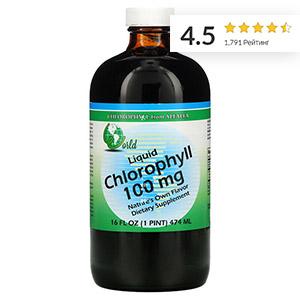 World Organic, жидкий хлорофилл