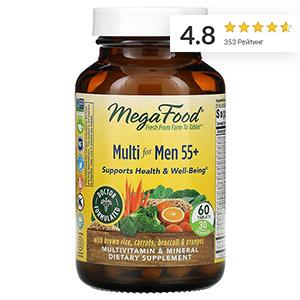 MegaFood, Multi for Men 55+, мультивитамины для мужчин старше 55 лет
