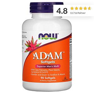 Now Foods, ADAM, эффективные мультивитамины для мужчин