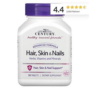 21st Century, Волосы, кожа и ногти