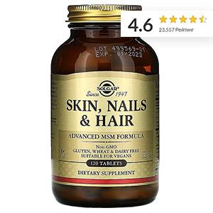 Solgar, кожа, ногти и волосы