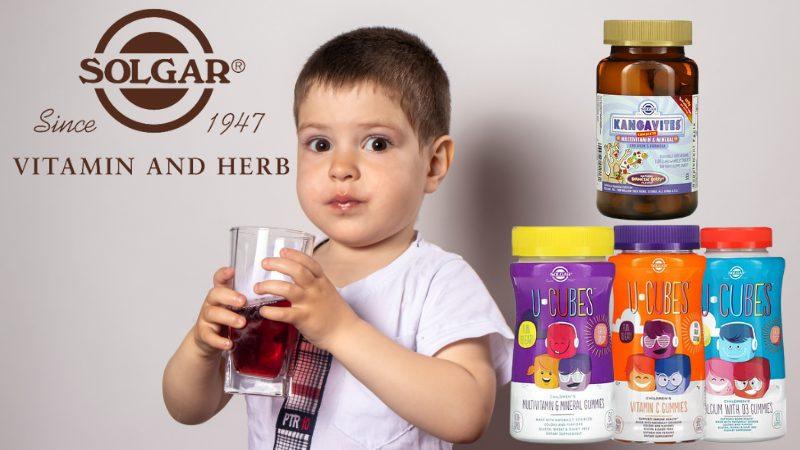 Лучшие витамины для детей от Solgar. Обзор и сравнение комплексов Kangavites и U-Cubes