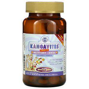 Solgar, Kangavites, полноценный детский комплекс с витаминами и минералами