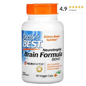 Doctor's Best, Neurotrophic Brain Fomrula, добавка для поддержания работы мозга