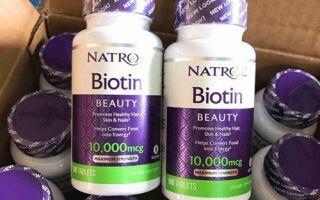Самые популярные добавки с биотином от компании Natrol на iHerb. Описание, дозировка, сравнение цен с другими интернет-магазинами