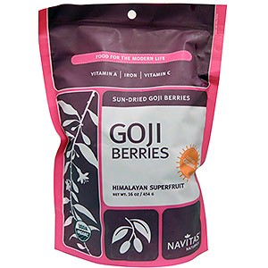 Navitas Naturals Organic Goji Berries Sun Dried