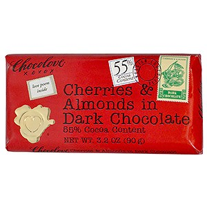 Chocolove Chilies Cherries in Dark Chocolate
