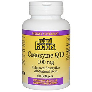 Natural Factors Coenzyme Q10 Enhanced Absorption