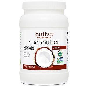 Рафинированное кокосовое масло Nutiva Organic Coconut Refined oil