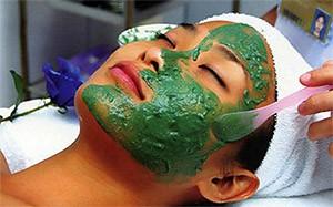 спирулина для кожи лица