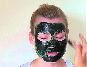 маска для лица из спирулины